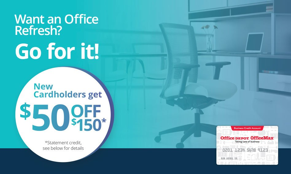 overview office depot business credit account - Office Depot Business Credit Card
