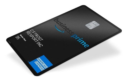 amazon business prime credit card